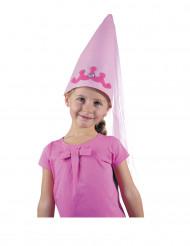 Cappello da fatina rosa per bambina