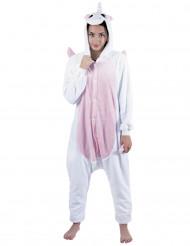 Costume tutona da unicorno rosa per adulto