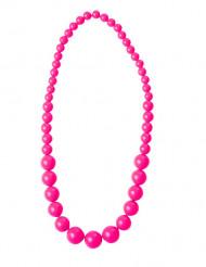 Collana di perle rosa per adulto