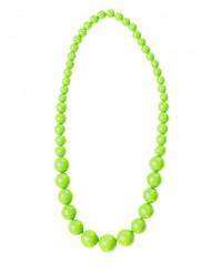 Collana di perle verdi per adulto