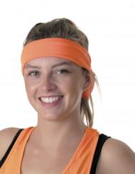 Fascia per capelli arancione da adulto
