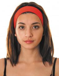 Fascia rossa per capelli anni