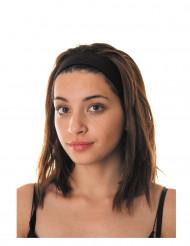Fascia per capelli nera