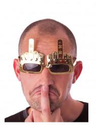 Occhiali dito medio per adulto