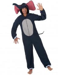 Costume da elefante scuro uomo