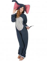 Costume da elefante donna