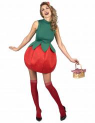 Costume da fragola per donna