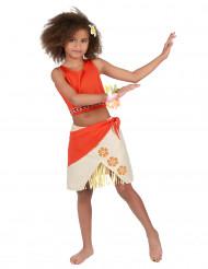 Costume hawaii corallo per bambina