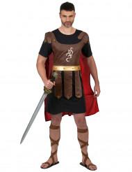 Costume da impavido gladiatore romano per uomo