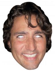 Maschera di cartone Justin Trudeau