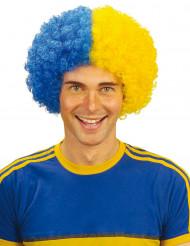 Parrucca tifoso svedese