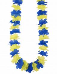 Collana hawaiana da tifoso della Svezia per adulto