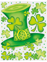 Decorazioni per finestra Saint Patrick