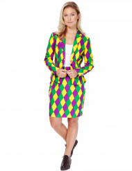 Costume Miss Arlecchino donna Opposuits™
