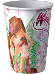 8 bicchieri di cartone Winx Butterflix™ 25 cl