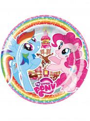8 piatti di carta My little pony™