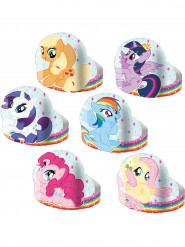 6 diademi di cartoncino My little Pony ™