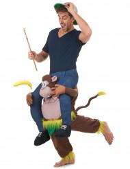 Scimmia porta uomo Carry me
