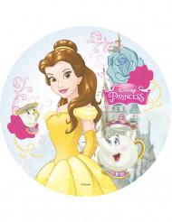 Disco per torta in ostia La bella e la bestia™