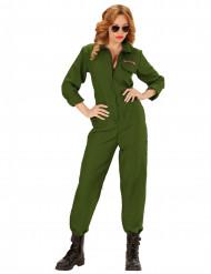 Image of Costume da pilota d'aereo donna