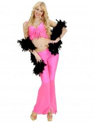 Costume disco sexy rosa per donna