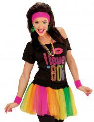 Tutu multicolore fluo da donna
