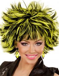 Orecchini a rombi neri e gialli per donna