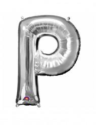 Palloncino in alluminio lettera P gigante