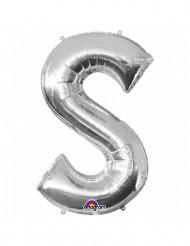 Palloncino in alluminio lettera S gigante