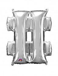 Palloncino in alluminio simbolo #