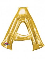 Palloncino alluminio lettera A gigante