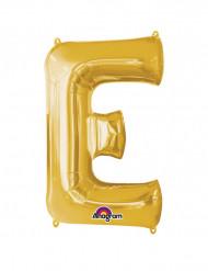 Palloncino in alluminio gigante lettere E