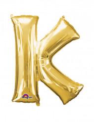 Palloncino in alluminio gigante lettera K