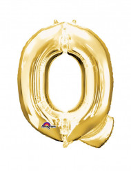 Palloncino di alluminio lettera Q gigante