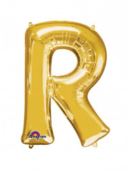 Palloncino in alluminio lettera R gigante