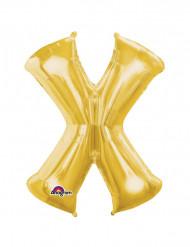 Palloncino in alluminio lettera X gigante