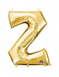 Palloncino in alluminio lettera Z gigante