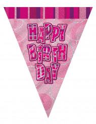 Ghirland adi bandierine Happy Birthday