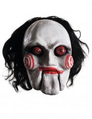 Maschera Saw™ con capelli per Adulto