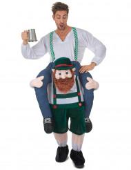 Costume uomo sulle spalle di un bavarese Carry Me