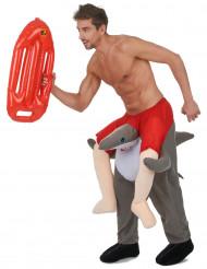 Costume uomo a cavallo dello squalo - Carry me