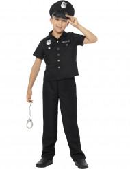 Vestito da poliziotto New York per bambino
