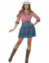 Costume da miss rodeo per donna