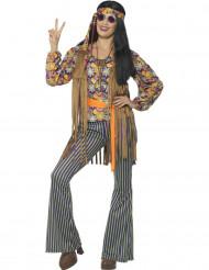 Costume cantante hippie anni 60 donna
