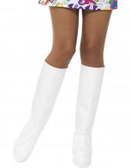 Copriscarpe bianche donna