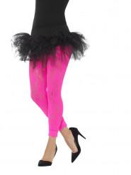 Legging in pizzo fucsia per donna