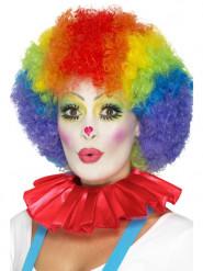 Colletto da clown rosso per adulto