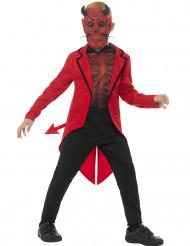 Vestito  da diavolo gentleman da bambino
