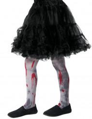 Calze insanguinate zombie bambini Halloween