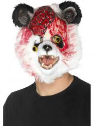 Maschera panda zombie adulto halloween